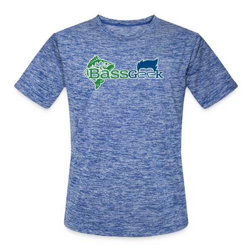 BassGeek Logo - Men's Moisture Wicking Performance T-Shirt