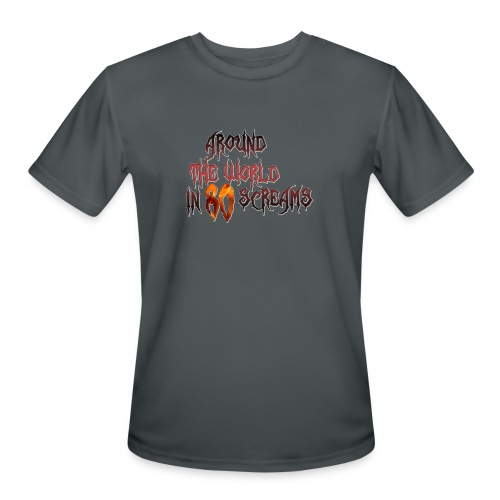 Around The World in 80 Screams - Men's Moisture Wicking Performance T-Shirt