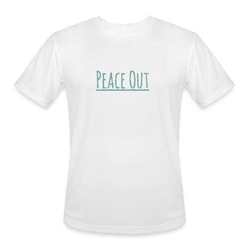 Peace Out Merchindise - Men's Moisture Wicking Performance T-Shirt