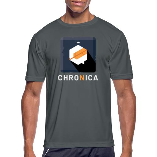 Classic Chronica Icon - Men's Moisture Wicking Performance T-Shirt