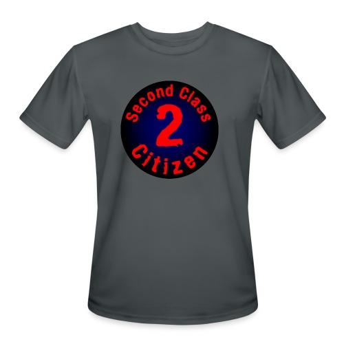2nd Class Citizen Logo (Dark) - Men's Moisture Wicking Performance T-Shirt