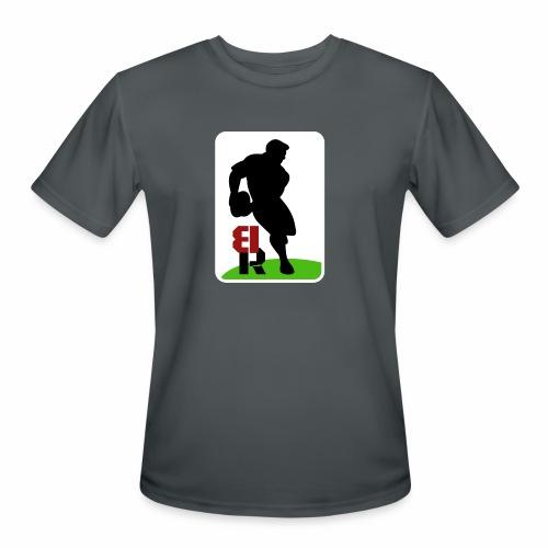 Breaking Rugby Flip - Men's Moisture Wicking Performance T-Shirt