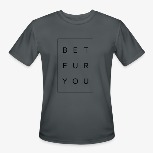 Black Puzzle Design - Be You, Be True - Men's Moisture Wicking Performance T-Shirt