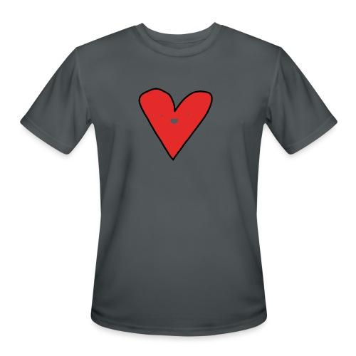 Heart - Men's Moisture Wicking Performance T-Shirt