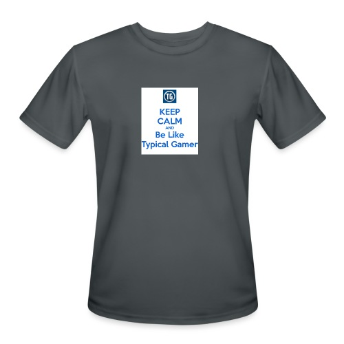 keep calm and be like typical gamer - Men's Moisture Wicking Performance T-Shirt