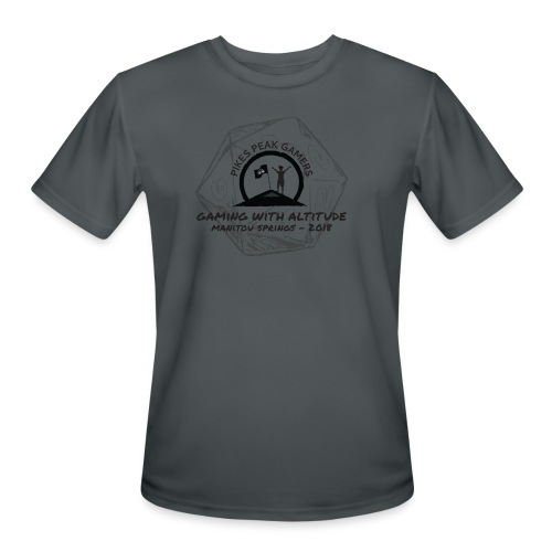 Pikes Peak Gamers Convention 2018 - Clothing - Men's Moisture Wicking Performance T-Shirt