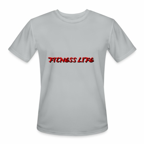 FITNESS LIFE - Men's Moisture Wicking Performance T-Shirt