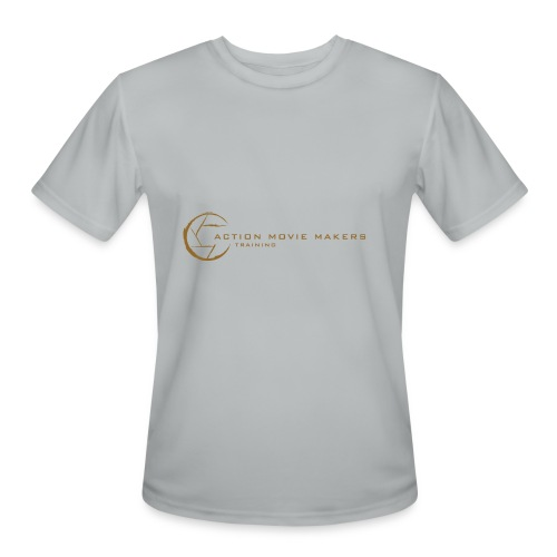 AMMT Logo Modern Look - Men's Moisture Wicking Performance T-Shirt