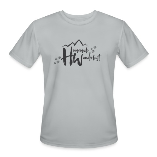 Homemade Wanderlust Black Logo - Men's Moisture Wicking Performance T-Shirt