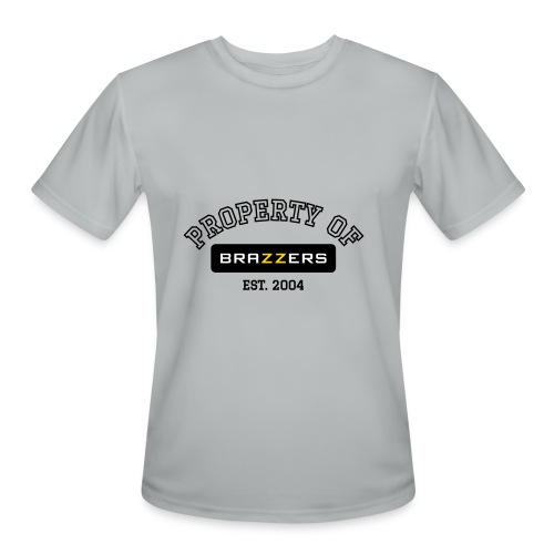 Property of Brazzers logo - Men's Moisture Wicking Performance T-Shirt