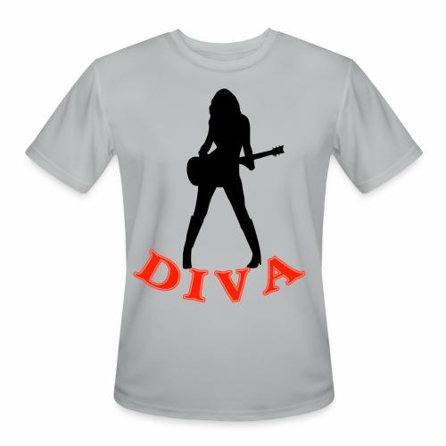 Rock Star Diva - Men's Moisture Wicking Performance T-Shirt