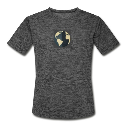 The world as one - Men's Moisture Wicking Performance T-Shirt