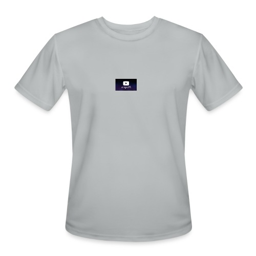 my life is youtube poster - Men's Moisture Wicking Performance T-Shirt