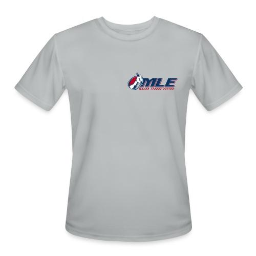 Major League Eating Small Logo - Men's Moisture Wicking Performance T-Shirt