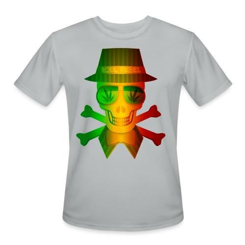 Rasta Man Rebel - Men's Moisture Wicking Performance T-Shirt