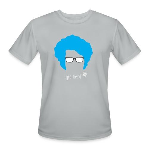 Geo Nerd (him) - Men's Moisture Wicking Performance T-Shirt