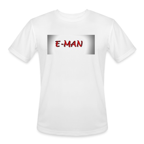 E-MAN - Men's Moisture Wicking Performance T-Shirt