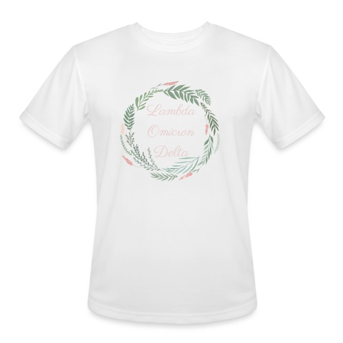 LOD Flower Wreath 1 - Men's Moisture Wicking Performance T-Shirt