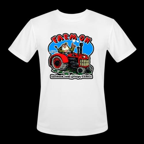 Mr Natural Farm On - Men's Moisture Wicking Performance T-Shirt