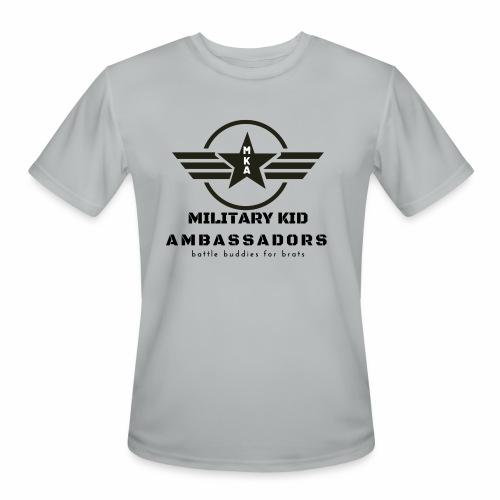 Military Kid Ambassador - Men's Moisture Wicking Performance T-Shirt
