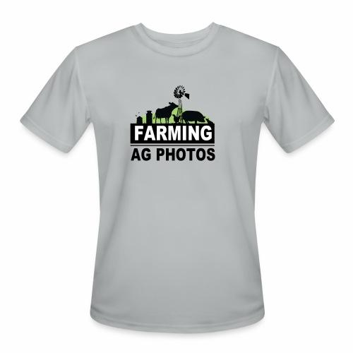 Farming Ag Photos - Men's Moisture Wicking Performance T-Shirt