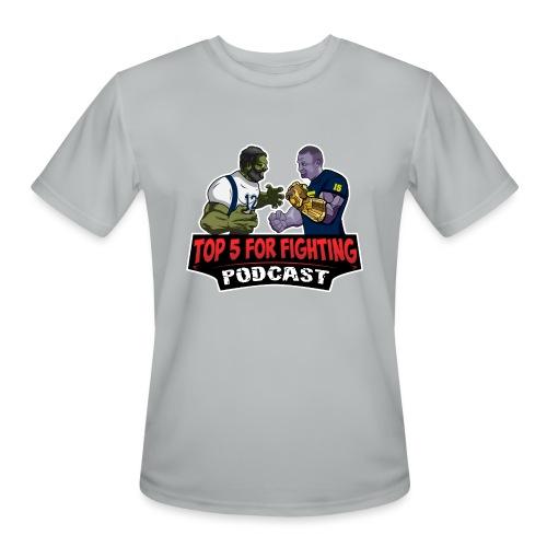 Top 5 for Fighting Logo - Men's Moisture Wicking Performance T-Shirt