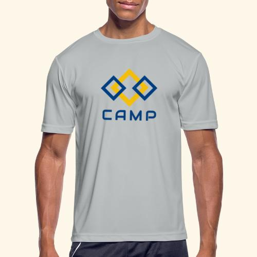 CAMP LOGO and products - Men's Moisture Wicking Performance T-Shirt