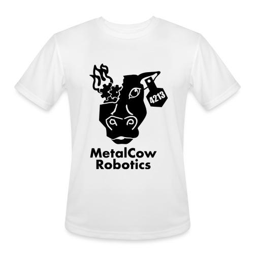 MetalCow Solid - Men's Moisture Wicking Performance T-Shirt