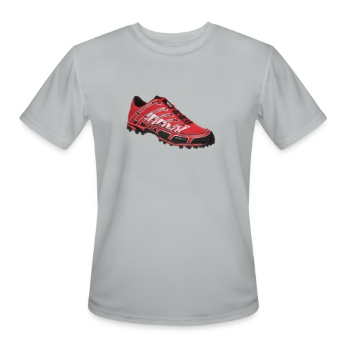 cleats png - Men's Moisture Wicking Performance T-Shirt