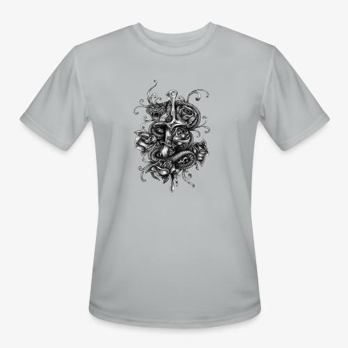 Dagger And Snake - Men's Moisture Wicking Performance T-Shirt