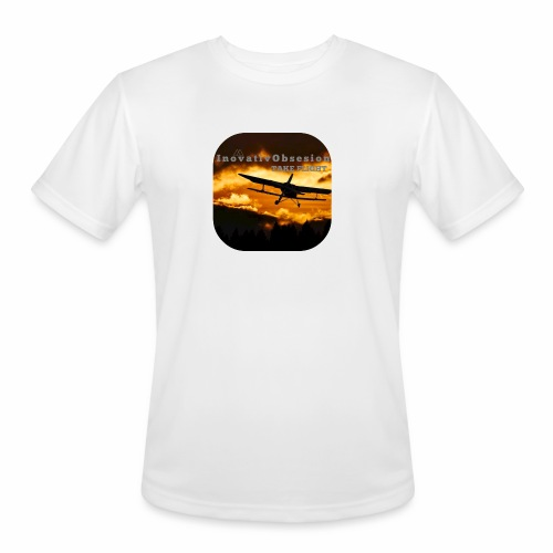 "InovativObsesion ""TAKE FLIGHT"" apparel - Men's Moisture Wicking Performance T-Shirt"