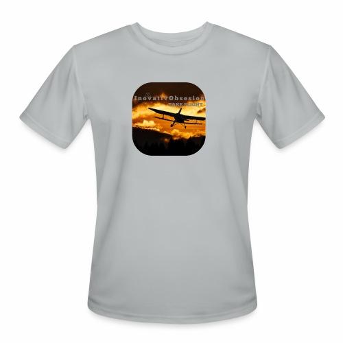 "InovativObsesion ""TAKE FLIGHT"" apparel - Men's Moisture Wicking Performance T-Shirt"
