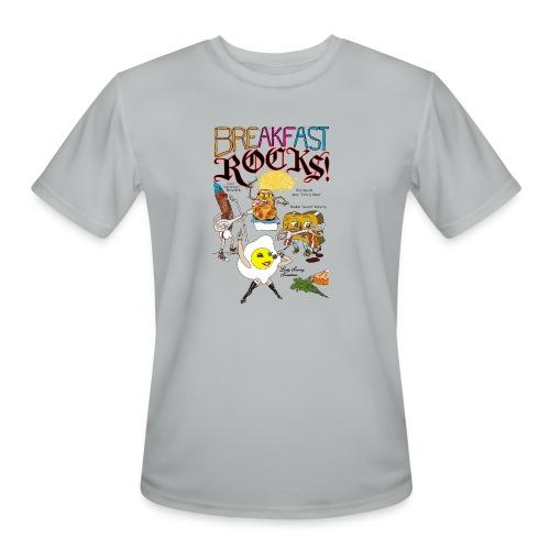 Breakfast Rocks! - Men's Moisture Wicking Performance T-Shirt