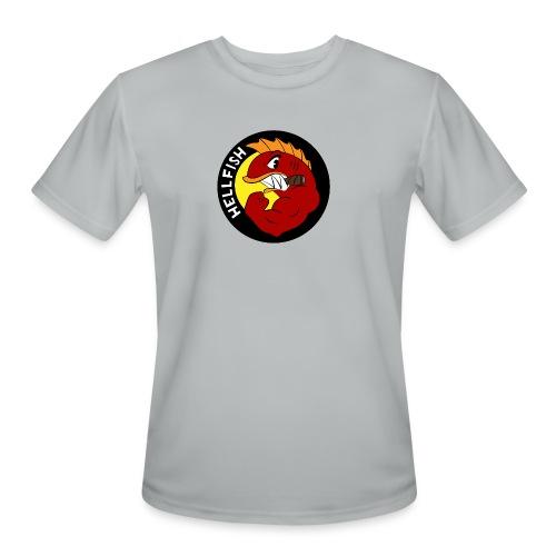 Hellfish - Flying Hellfish - Men's Moisture Wicking Performance T-Shirt
