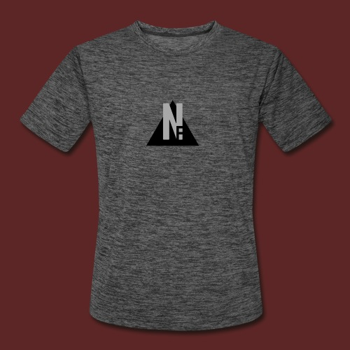 Basic NF Logo - Men's Moisture Wicking Performance T-Shirt