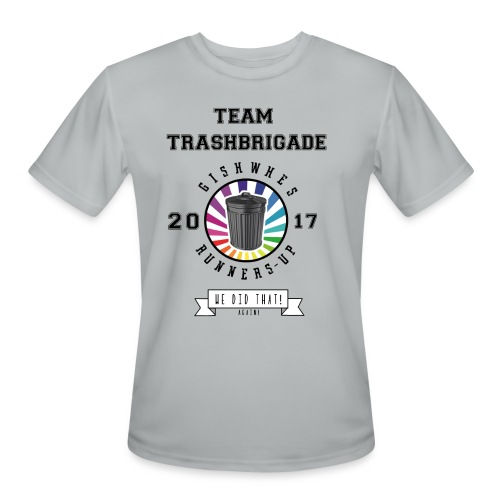 TrashBrigade 2017 - Men's Moisture Wicking Performance T-Shirt