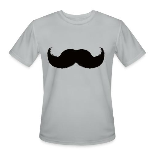Mustache Tee - Men's Moisture Wicking Performance T-Shirt