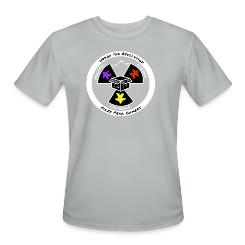 Pikes Peak Gamers Convention 2019 - Clothing - Men's Moisture Wicking Performance T-Shirt