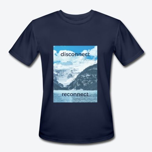 Disconnect Reconnect - Men's Moisture Wicking Performance T-Shirt