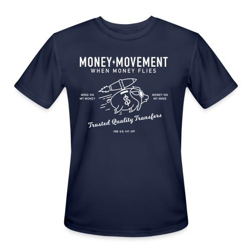 quality fund transfers - Men's Moisture Wicking Performance T-Shirt