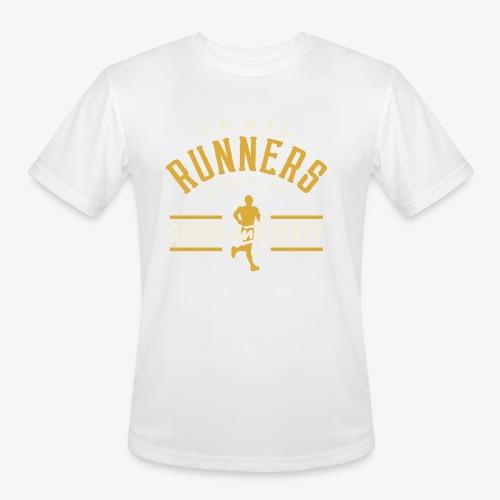 Trail Runners Like It Rough & Dirty - Men's Moisture Wicking Performance T-Shirt