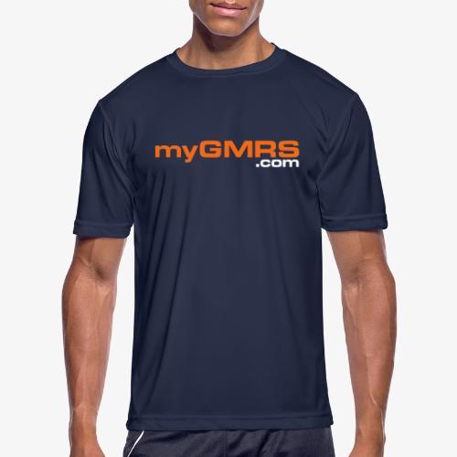 myGMRS - Men's Moisture Wicking Performance T-Shirt