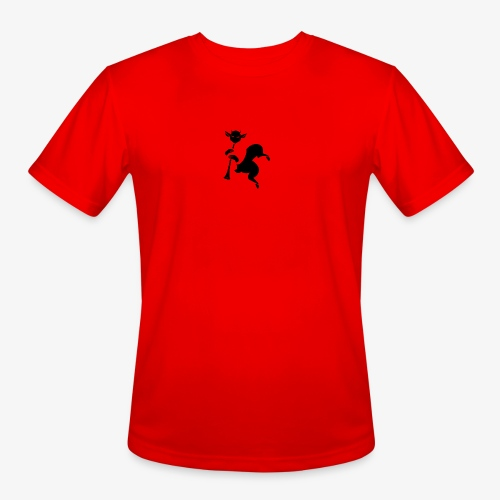 imagika black - Men's Moisture Wicking Performance T-Shirt