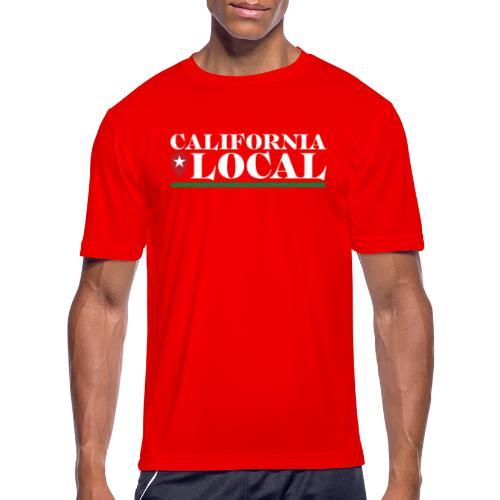 California Local Light on Dark - Men's Moisture Wicking Performance T-Shirt