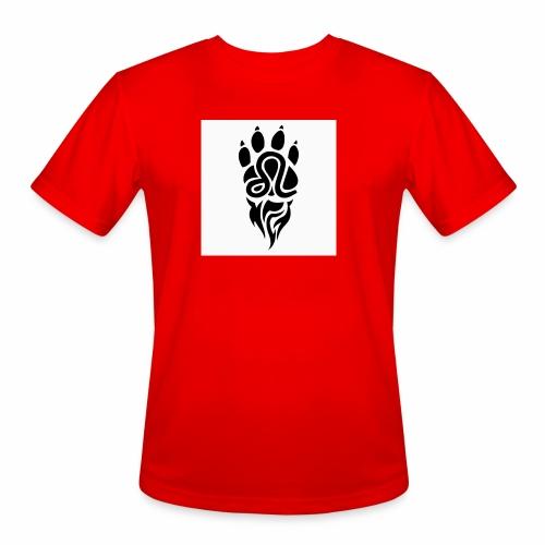 Black Leo Zodiac Sign - Men's Moisture Wicking Performance T-Shirt