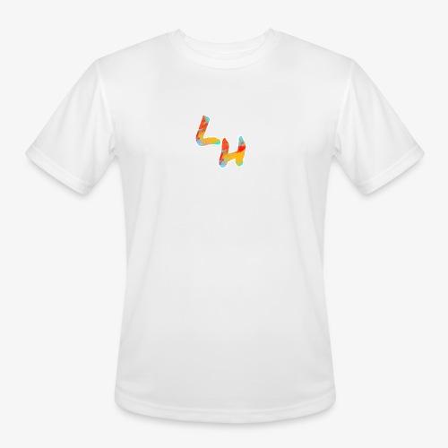 Los Hermanos Logo - Men's Moisture Wicking Performance T-Shirt