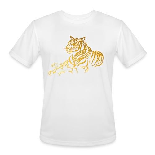 Gold Tiger - Men's Moisture Wicking Performance T-Shirt