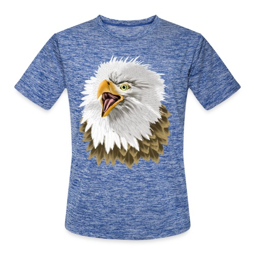 Big, Bold Eagle - Men's Moisture Wicking Performance T-Shirt