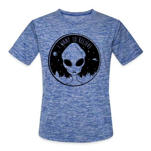 I Want To Believe - Men's Moisture Wicking Performance T-Shirt