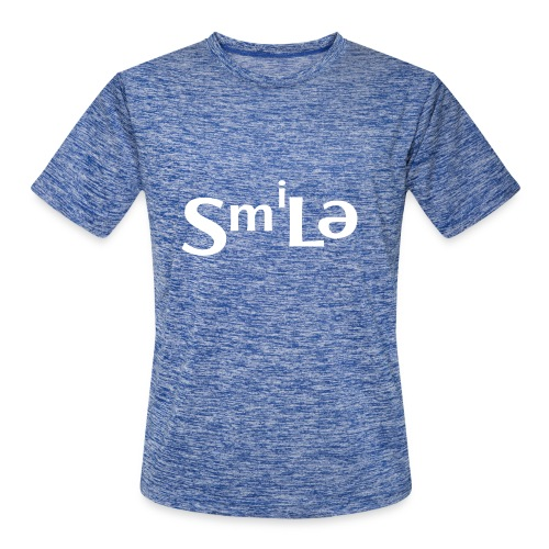 Smile Abstract Design - Men's Moisture Wicking Performance T-Shirt